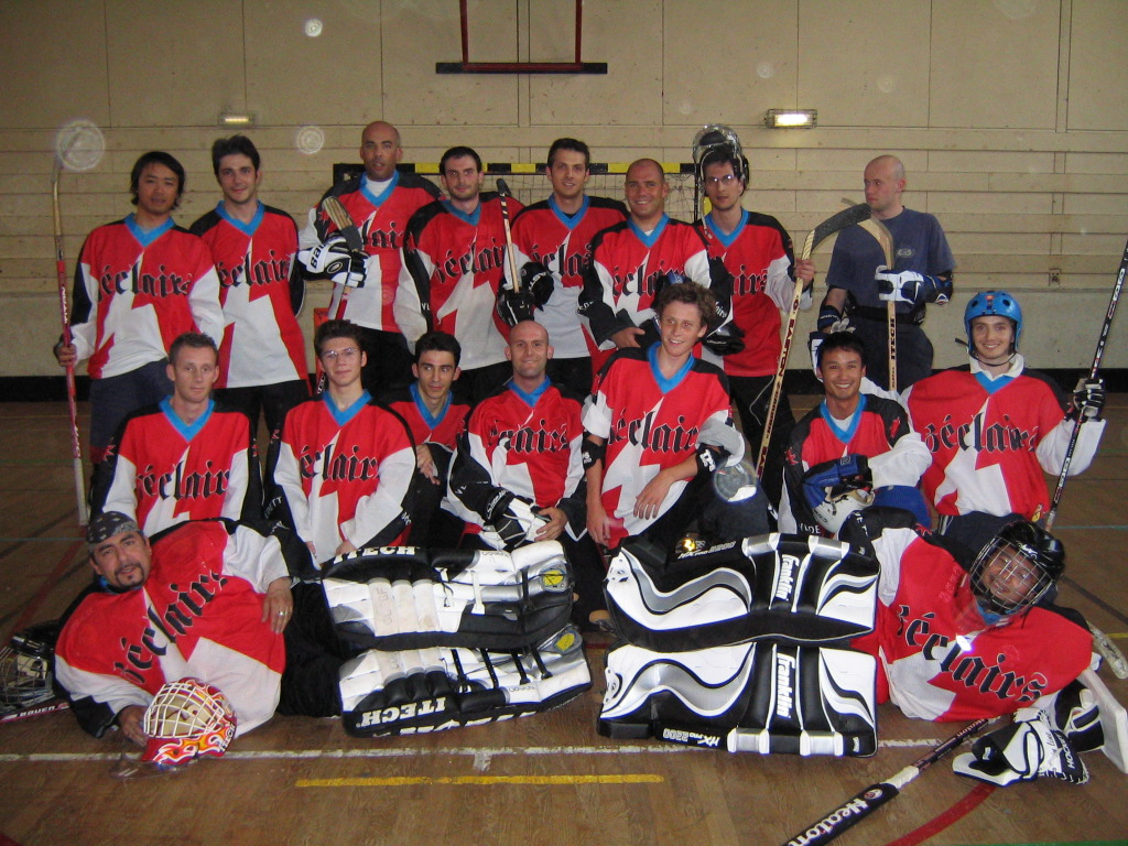 Photo Roller in line Hockey